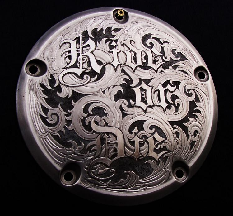Paul holbrecht metal engraving for Ride or die jewelry