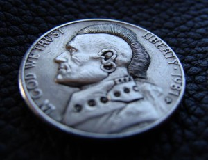 Punk's not dead - hobo nickel