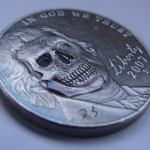 'Better go see the Doctor' Hobo nickel USA Jefferson-Monticello 5 cents 2.1.1