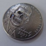 'Better go see the Doctor' Hobo nickel USA Jefferson-Monticello 5 cents 3.1