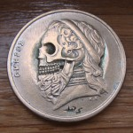 Old Greek 50 Drachmes 1988 (skulled Poet Homer) 1