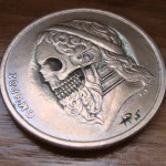 Old Greek 50 Drachmes 1988 (skulled Poet Homer) 2
