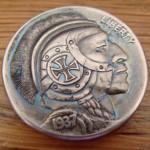 'The Brave Knight' Hobo nickel 2